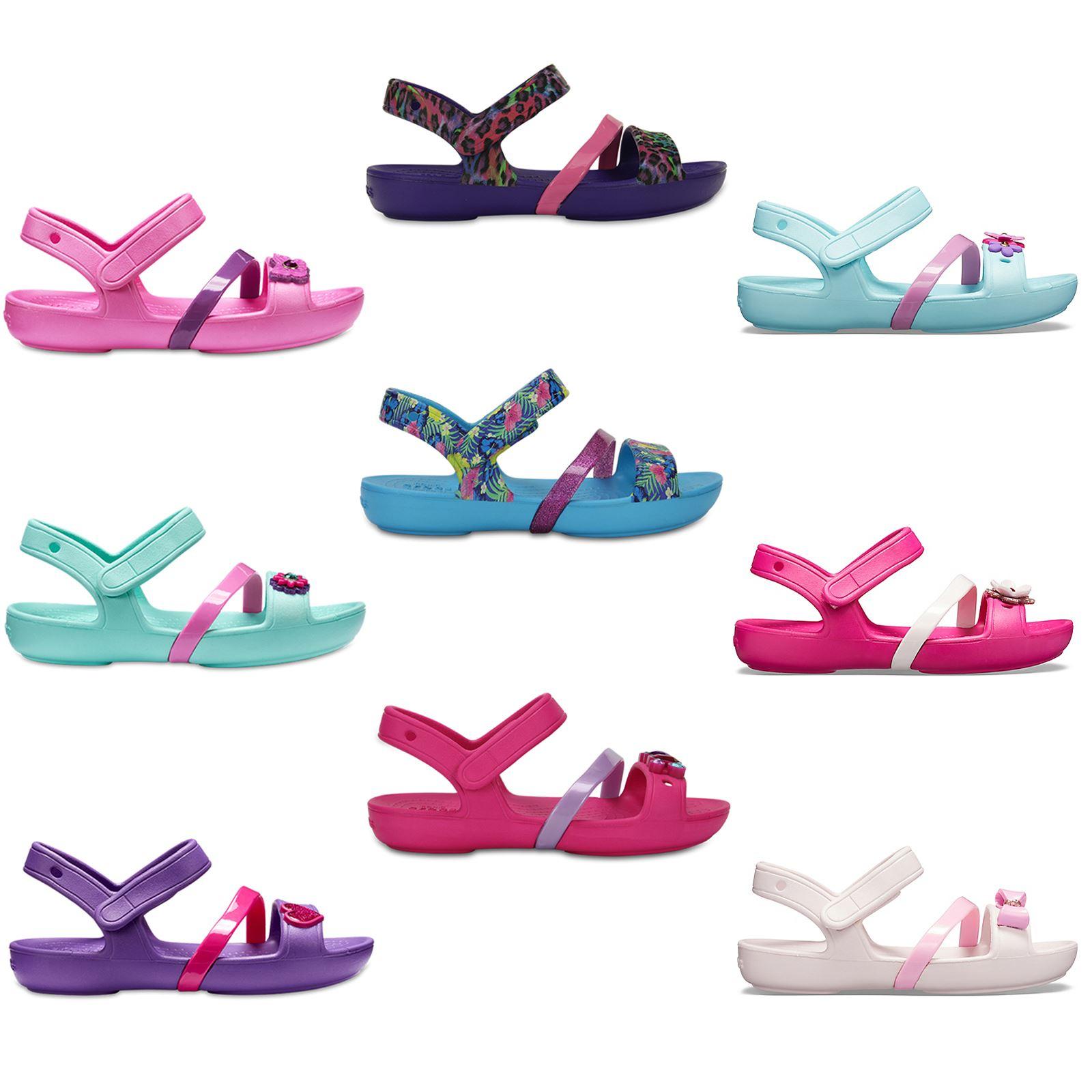 Crocs Infant Girls' Lina Charm Sandal Kids