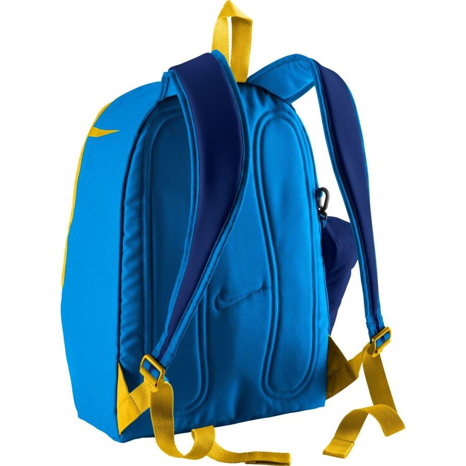 Nike Young Halfday Back to School Rucksack Backpack in Blue   Red ... 138dd04d8cf4e
