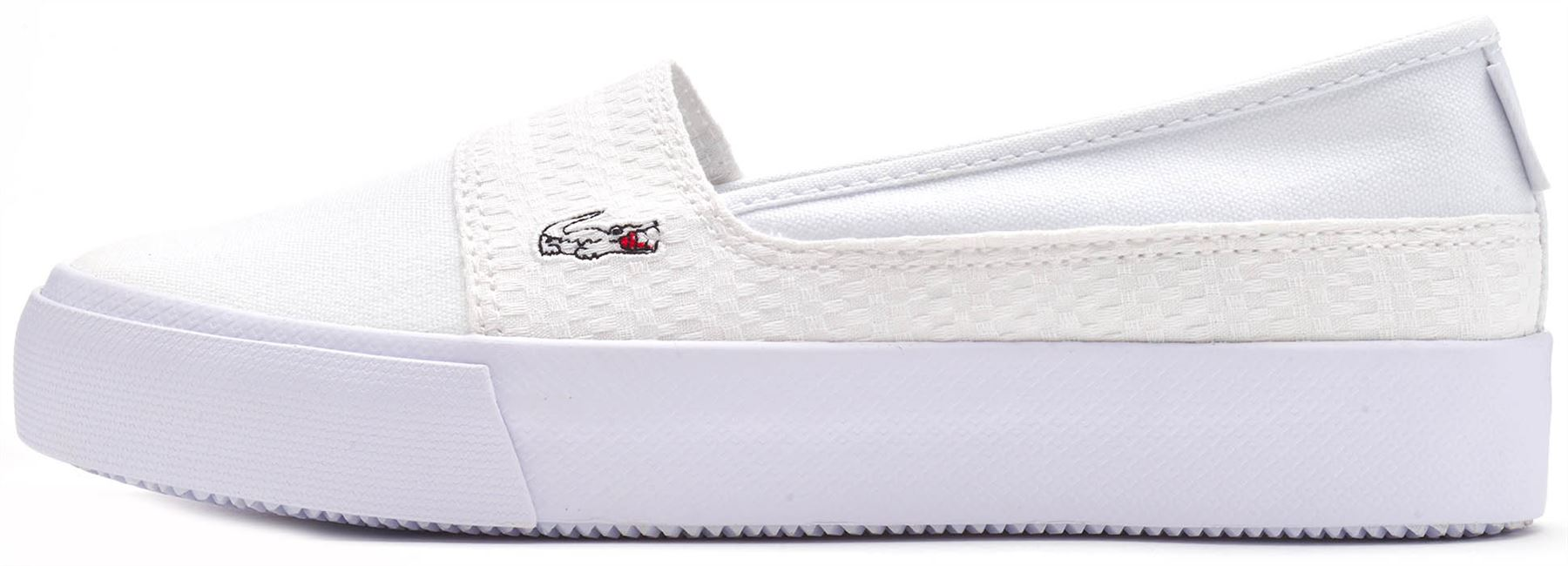 a370d4e82 Description Lacoste Marice Plus Grand 119 2 CFA Canvas Women Platform Slip  On Trainers A stylish resort slip-on demonstrating a hand-crafted quality  ...