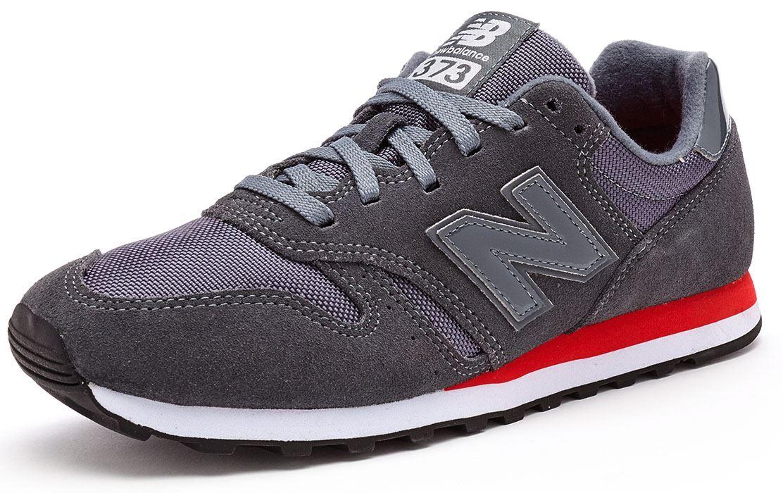 new balance 373 red grey
