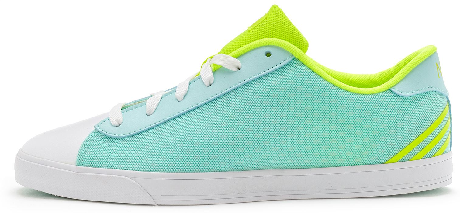 Adidas Originals Neo Daily Women Trainers in Frost Mint Green & Yellow F98668
