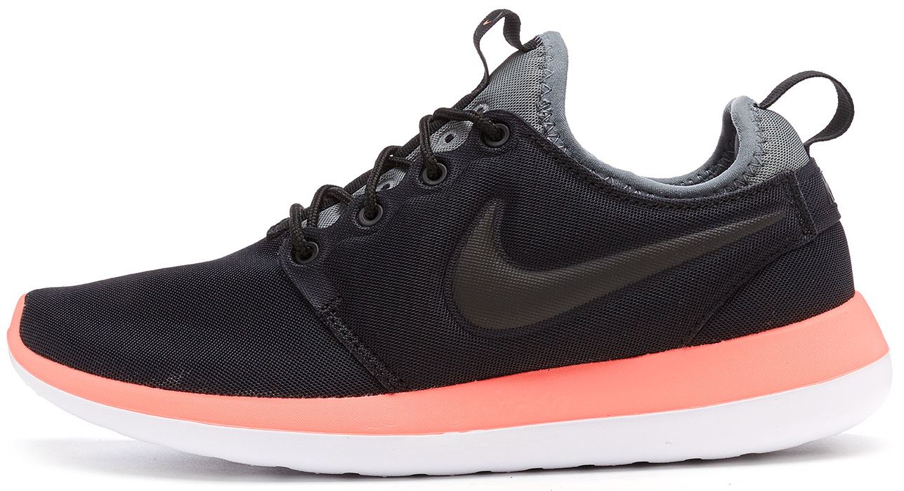 5e5c7878af23 Details about Nike Roshe Run Two Women Trainers in Black