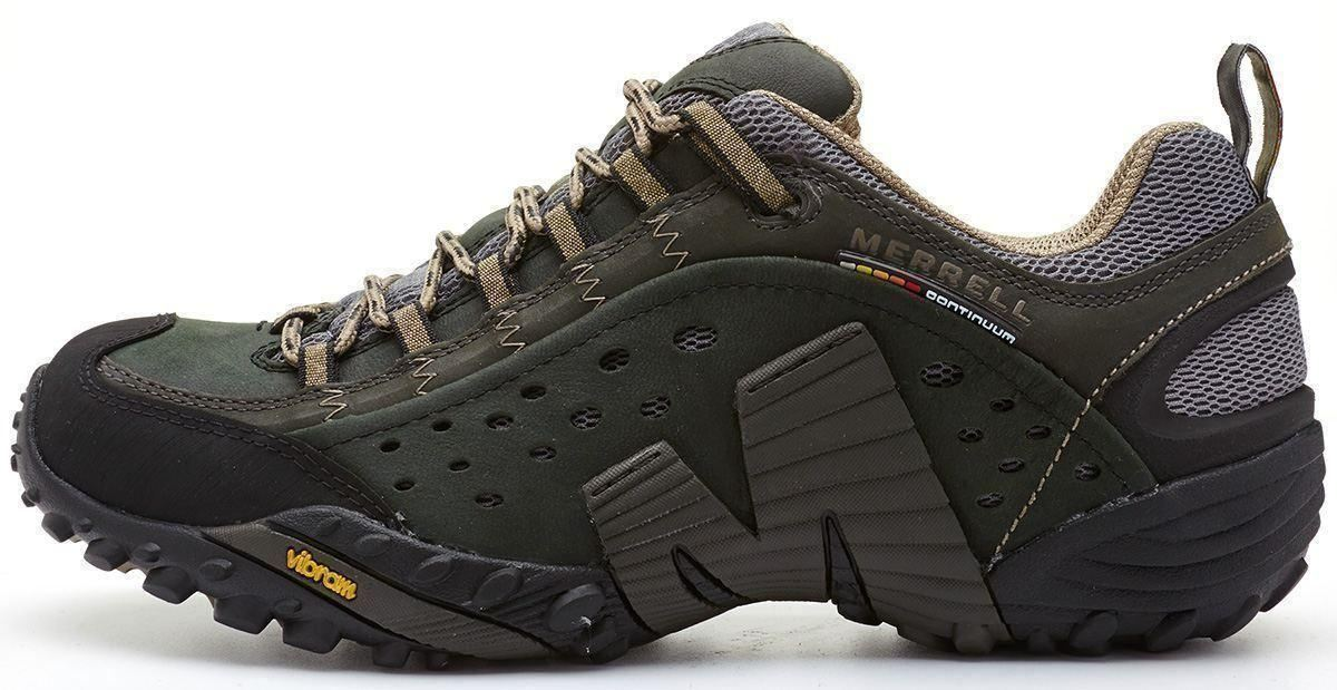 Merrell-Intercept-Hiking-Shoes-in-Moth-Brown-amp-Blue-Wing-amp-Black thumbnail 2