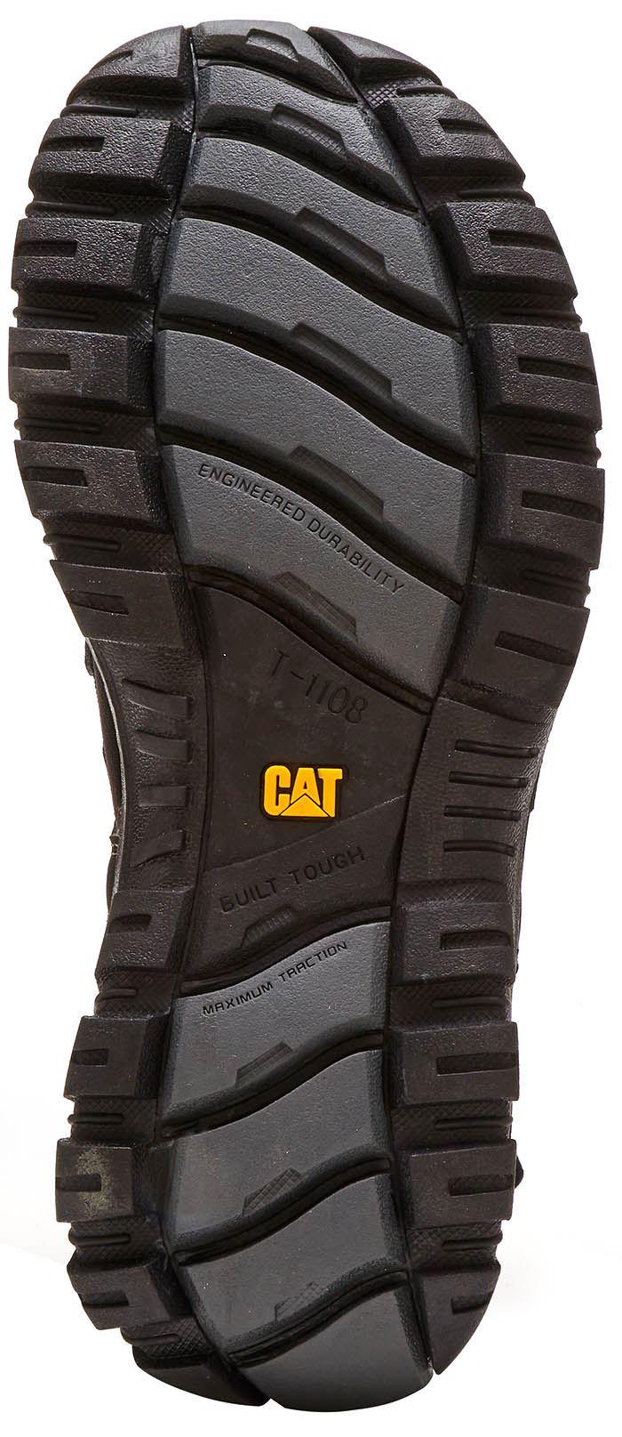 Caterpillar Giles CAT Leather Sandals in in in Marronee & nero 171c03