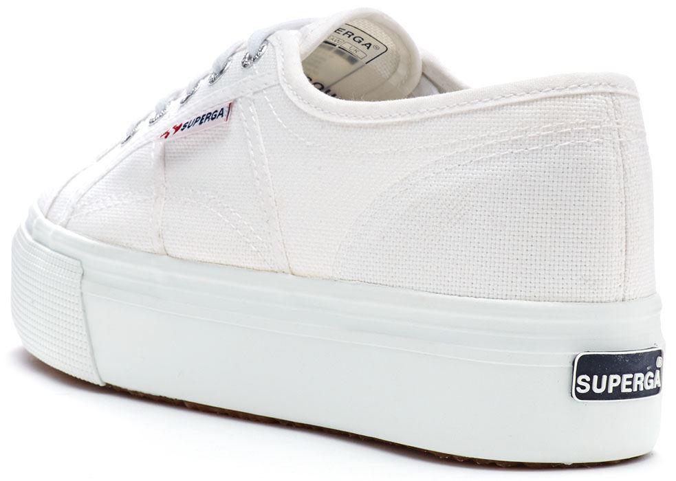 Superga-2790-ACOTW-Linea-Up-Down-Platform-Plimsoll-Canvas-Shoes-Blue-White-Black