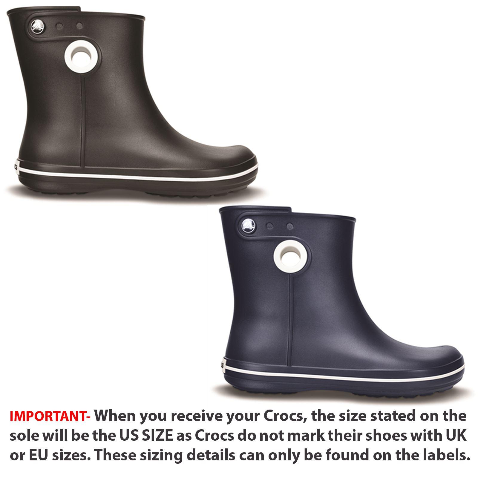Details about Crocs Trekking Shorts Rain wide fit ladies ankle boots show original title
