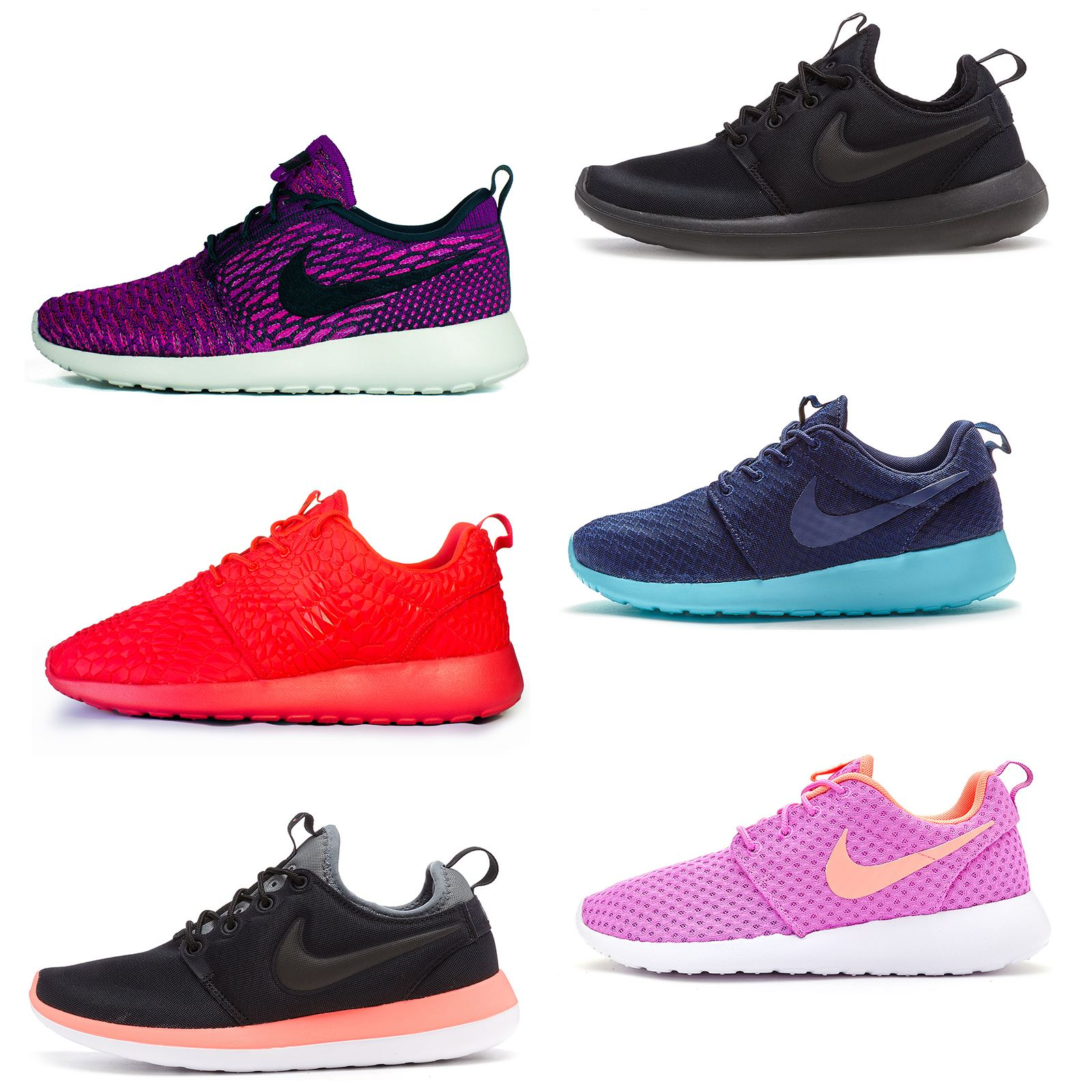185f1876c52f Details about Nike Roshe Run One Print   Mesh Women Trainers in All Sizes