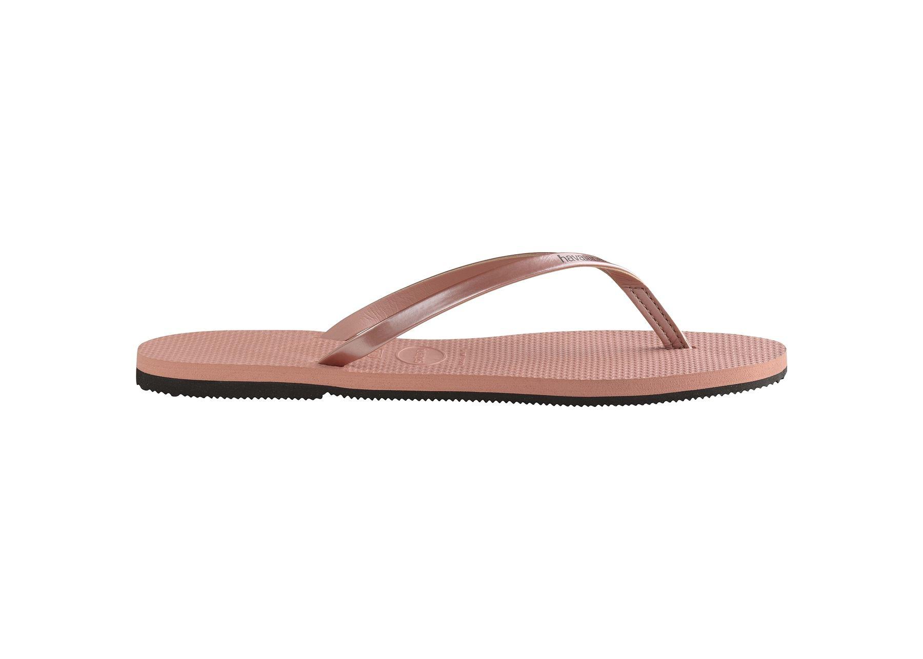 Havaianas-You-Metallic-Flip-Flops-Women-Summer-Beach-Sandals-Wide-Range-Colours miniature 7