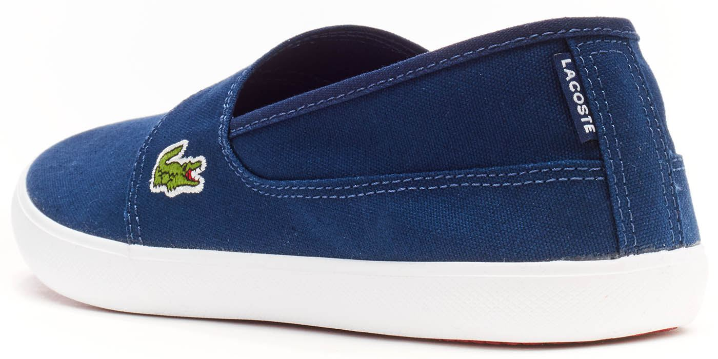 f97043b1f25 Details about Lacoste Marice BL 2 CAM Lace Canvas Slip Ons Trainers in Wide  Range of Colours
