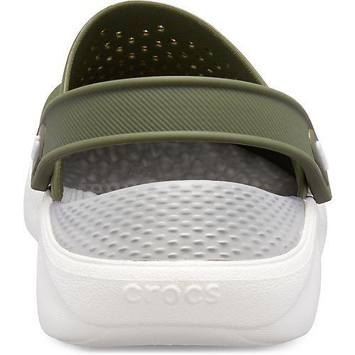 Crocs-Lite-Ride-Relaxed-Fit-Clog-Shoes-Sandals-Black-Grey-White-amp-Blue-204592 thumbnail 6