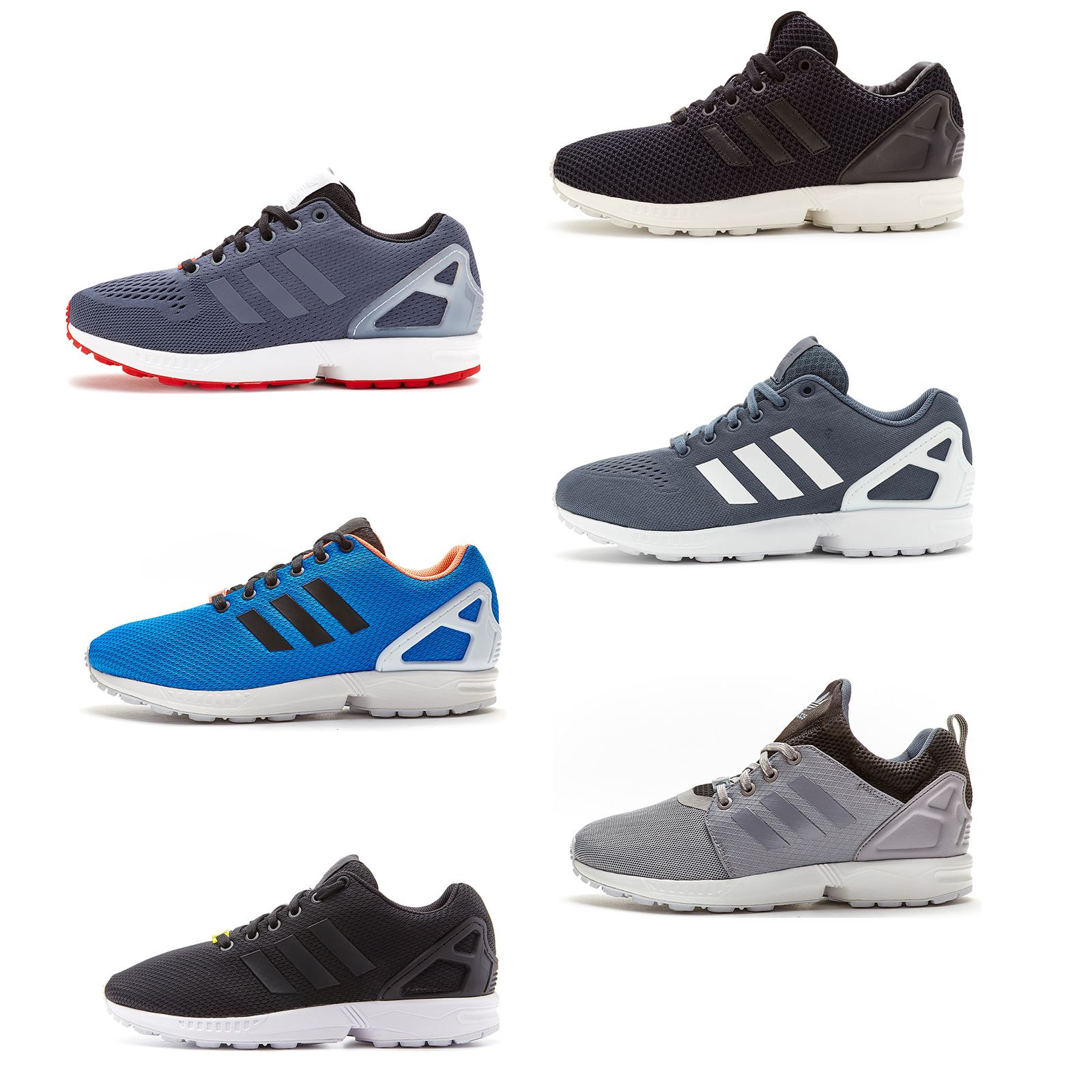 73a91c2e5f093 Details about Mens Adidas Originals ZX Flux Running Trainers All Sizes