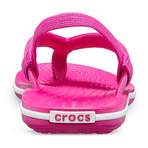 Crocs-Crocband-Kids-Ankle-Strap-Flip-Flops-Pool-Beach-Relaxed-Fit-Summer-Sandals thumbnail 10