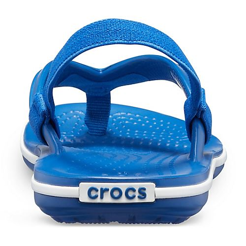 Crocs-Crocband-Kids-Ankle-Strap-Flip-Flops-Pool-Beach-Relaxed-Fit-Summer-Sandals thumbnail 6