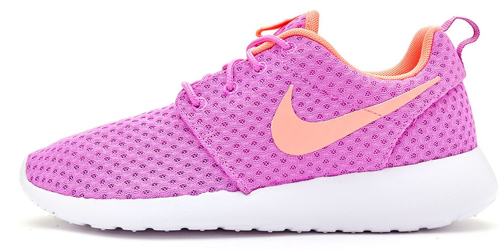 detailed pictures e59e5 b89d6 Nike WOMEN S Roshe One Br Traspirante Scarpe da ginnastica FUCSIA TG UK 4.5