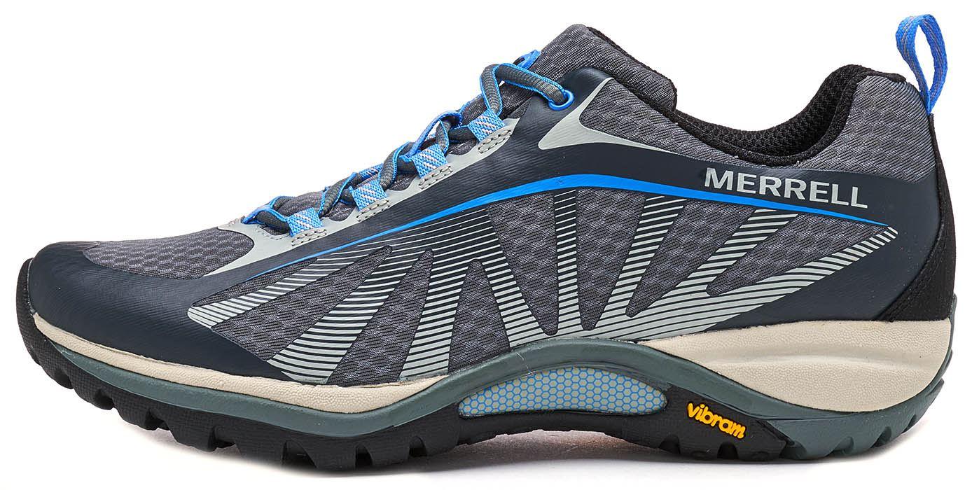Merrell Siren Edge Trainers Hiking Women Trainers Edge in Grey & Blue 94628a