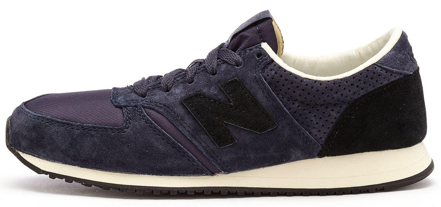new balance 420 trainers black embossed