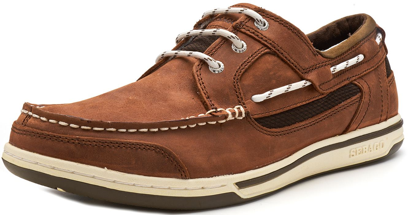 Sebago-Triton-Three-Eye-FGL-Suede-Boat-Deck-Shoes-in-Navy-Blue-amp-Brown-Cognac thumbnail 7