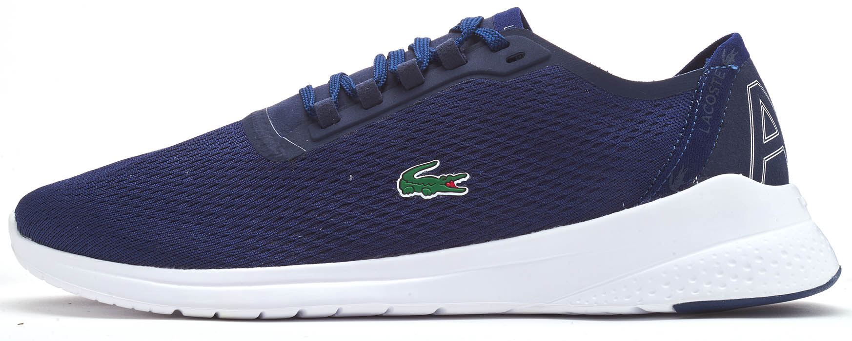 fa18a8786eb Description Lacoste LT FIT 119 1 SMA Textile Lace Up Running Trainers in  Black & Navy Blue A lightweight, running-inspired athleisure style  refreshed with a ...