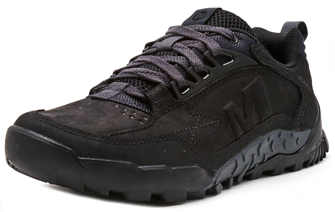 Merrell-Annex-Track-Low-Trainers-in-Cloudy-amp-Clay-Brown-amp-Sodalite-Blue thumbnail 3