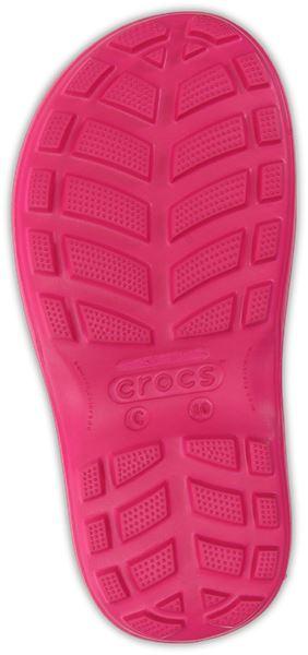 Crocs-Kids-Handle-It-Pluie-Botte-Wellies-en-Bleu-Vert-Rose-Gris-amp-Jaune-12803 miniature 7