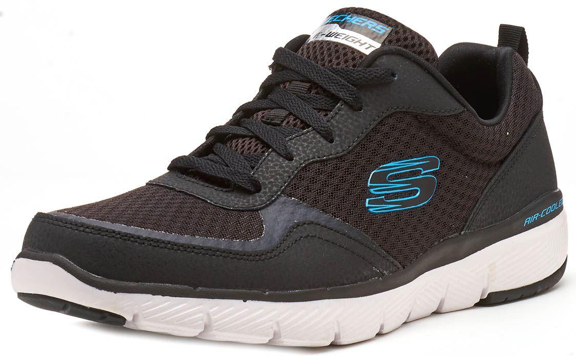 Skechers-FLEX-ADVANTAGE-3-0-con-Cordones-Fitness-Correr-Entrenadores-de-espuma-de-memoria miniatura 11