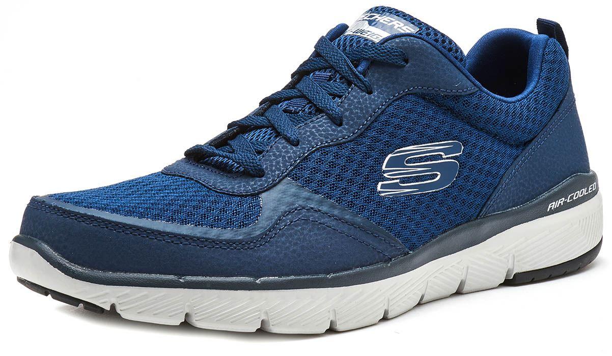 Skechers-FLEX-ADVANTAGE-3-0-con-Cordones-Fitness-Correr-Entrenadores-de-espuma-de-memoria miniatura 15