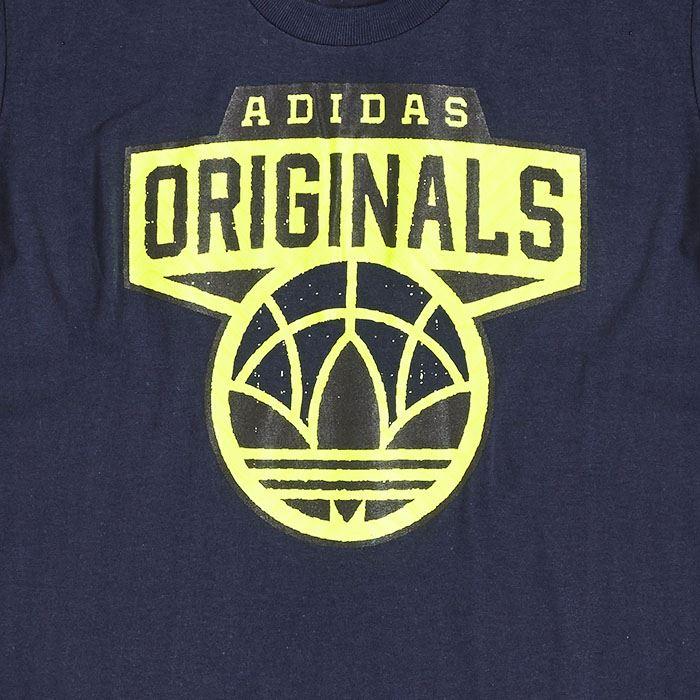 Adidas Shirt En Originals Bleu Gris Tee Unisexe T Logo Noir Rr1TRHFWw