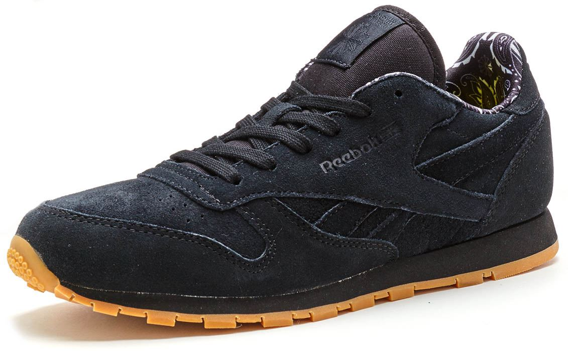 c157523a2de Reebok Classic Leather TDC GS Suede Trainers in Black BD5049