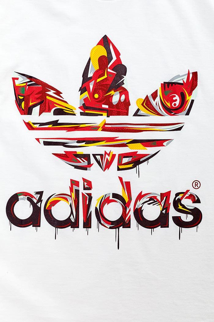 Details about Adidas Originals Men Tee T Shirt Adidas Logo in Black Blue Grey Red & White