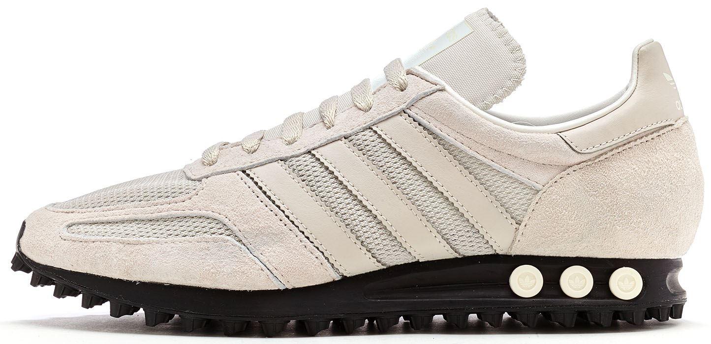 adidas Uomo, Los Angeles, Mesh/Pelle, Sneakers, Nero, 43&1/3 EU