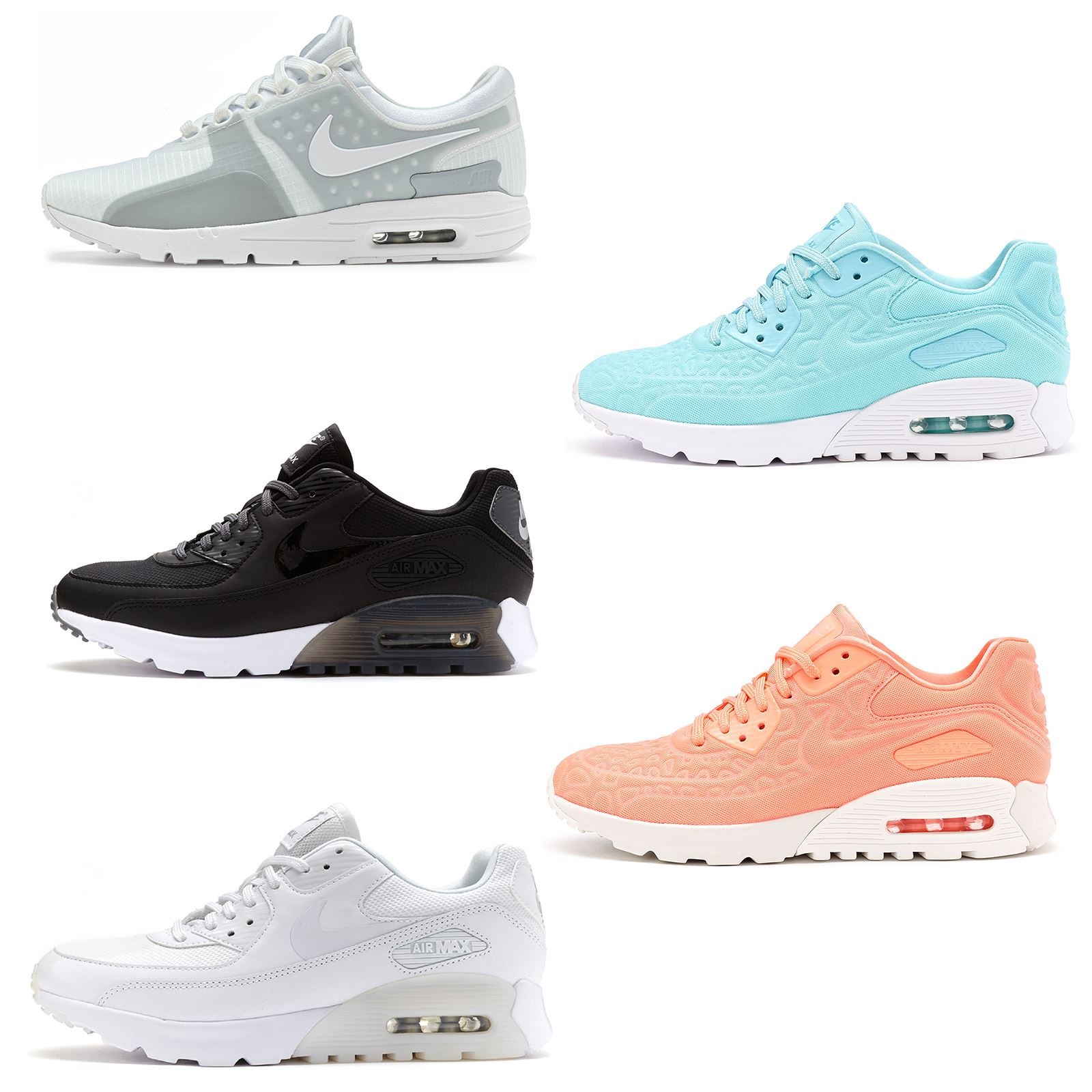 Details about Women Nike Air Max 90 Essential Premium Lunar Leather Suede  Trainers All Sizes 4a1a4e7f0
