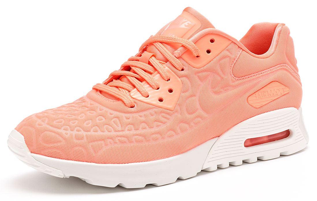 timeless design d688b 4d1a4 Nike Air Max 90 donne Ultra peluche formatori in rosa atomico   bianco  844886 600