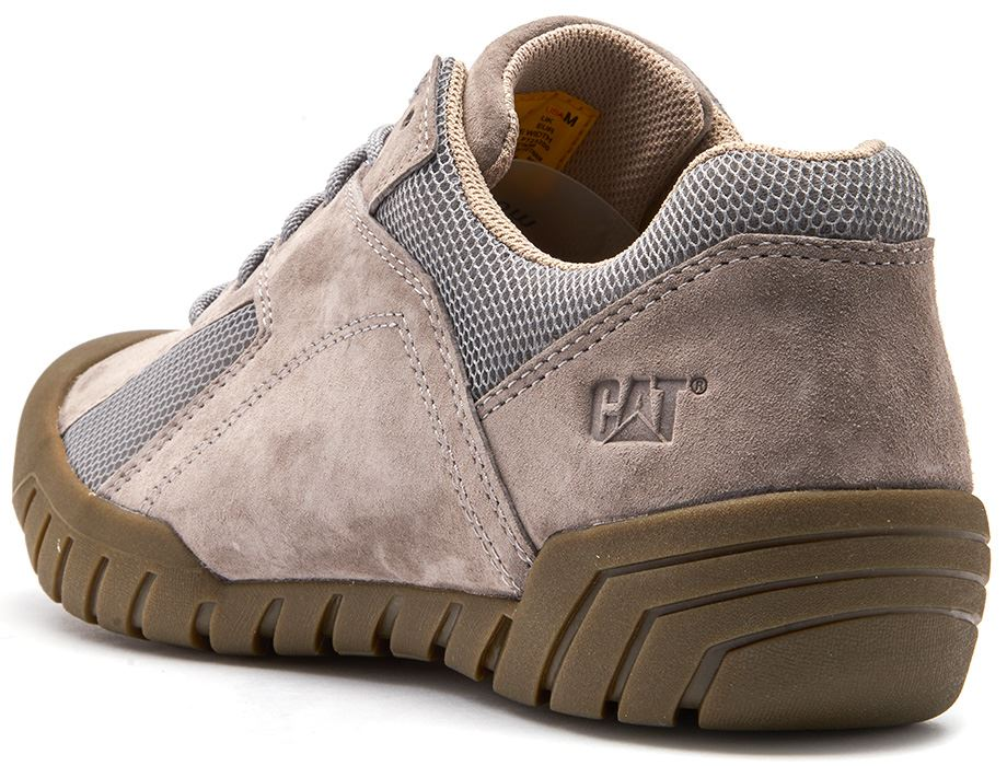 Caterpillar-CAT-Haycox-Shoes-Leather-Casual-Trainers-in-Brown-Taupe-amp-Grey thumbnail 8