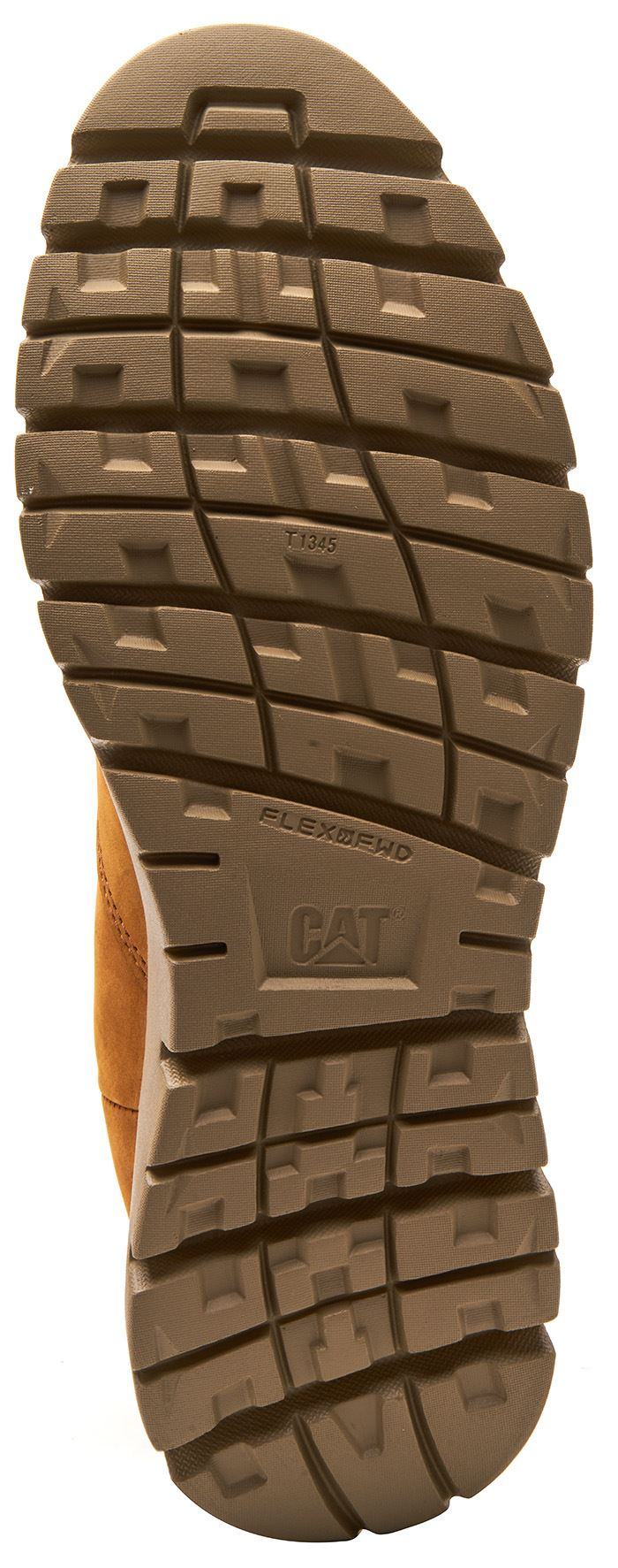 Caterpillar-CAT-Kase-Leather-Ankle-Chelsea-Boots-in-Brown-amp-Tan thumbnail 5