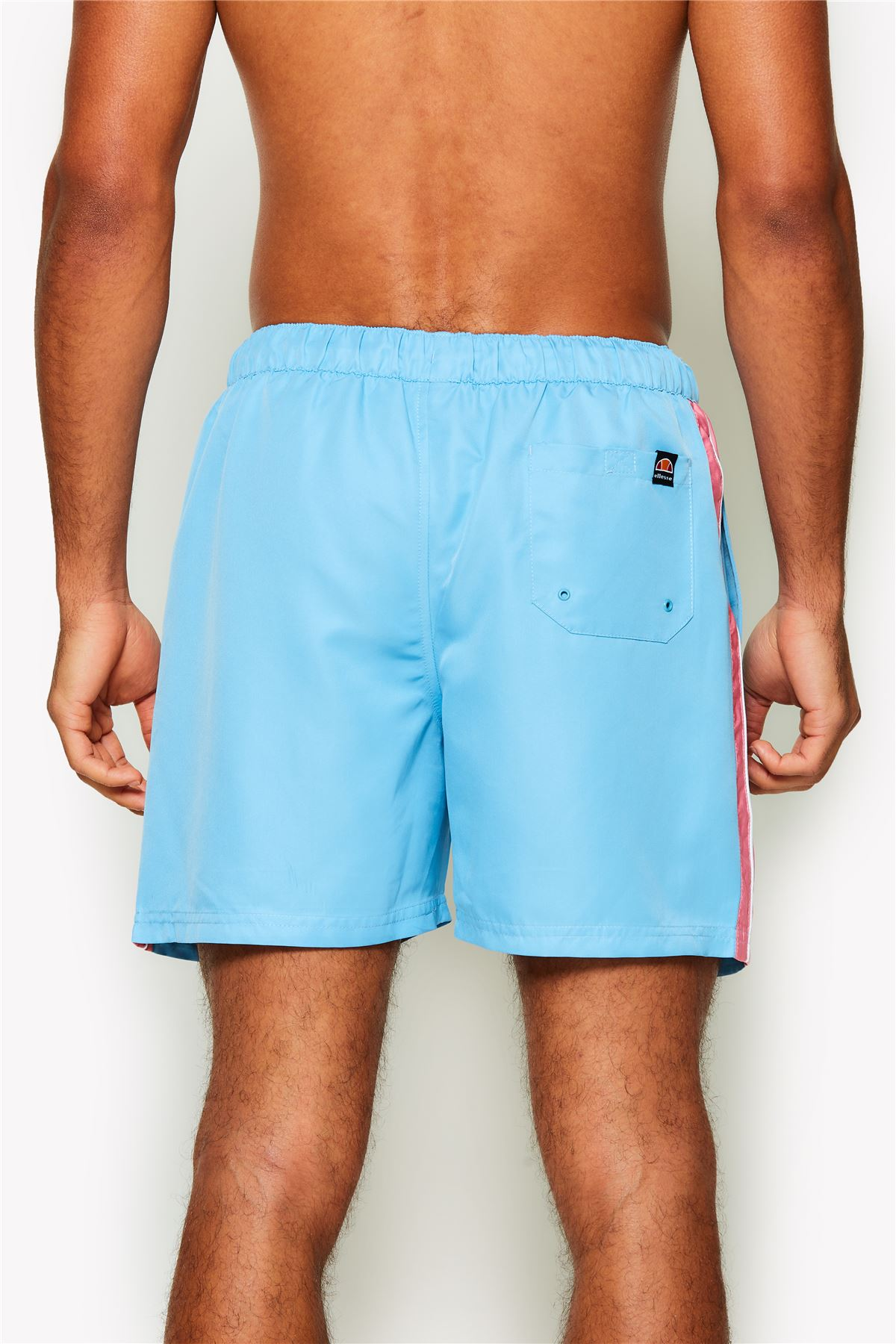 5c41bd809a Ellesse Nasello Beach, Pool Swim Short in Pastel Blue, Pink, Purple ...