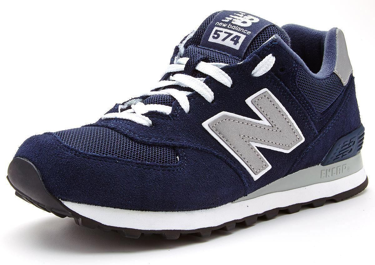 new balance 574 azul navy