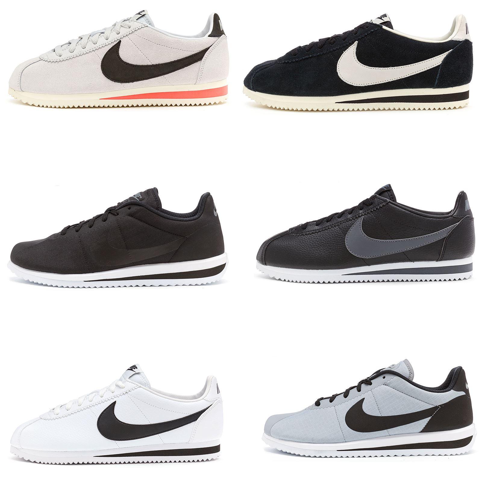 866cb59add1 Nike Classique Cortez   Ultra Raiders   Cuir Soi Treiners Noir
