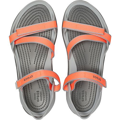 Crocs-Swiftwater-Webbing-Summer-Pool-Beach-Relaxed-Fit-Adjustable-Sandals thumbnail 9