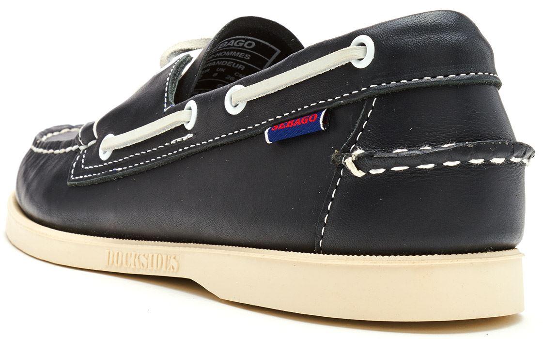 Sebago-Docksides-NBK-Suede-Boat-Deck-Shoes-in-Navy-Blue-amp-Coral-amp-Dark-Brown thumbnail 24