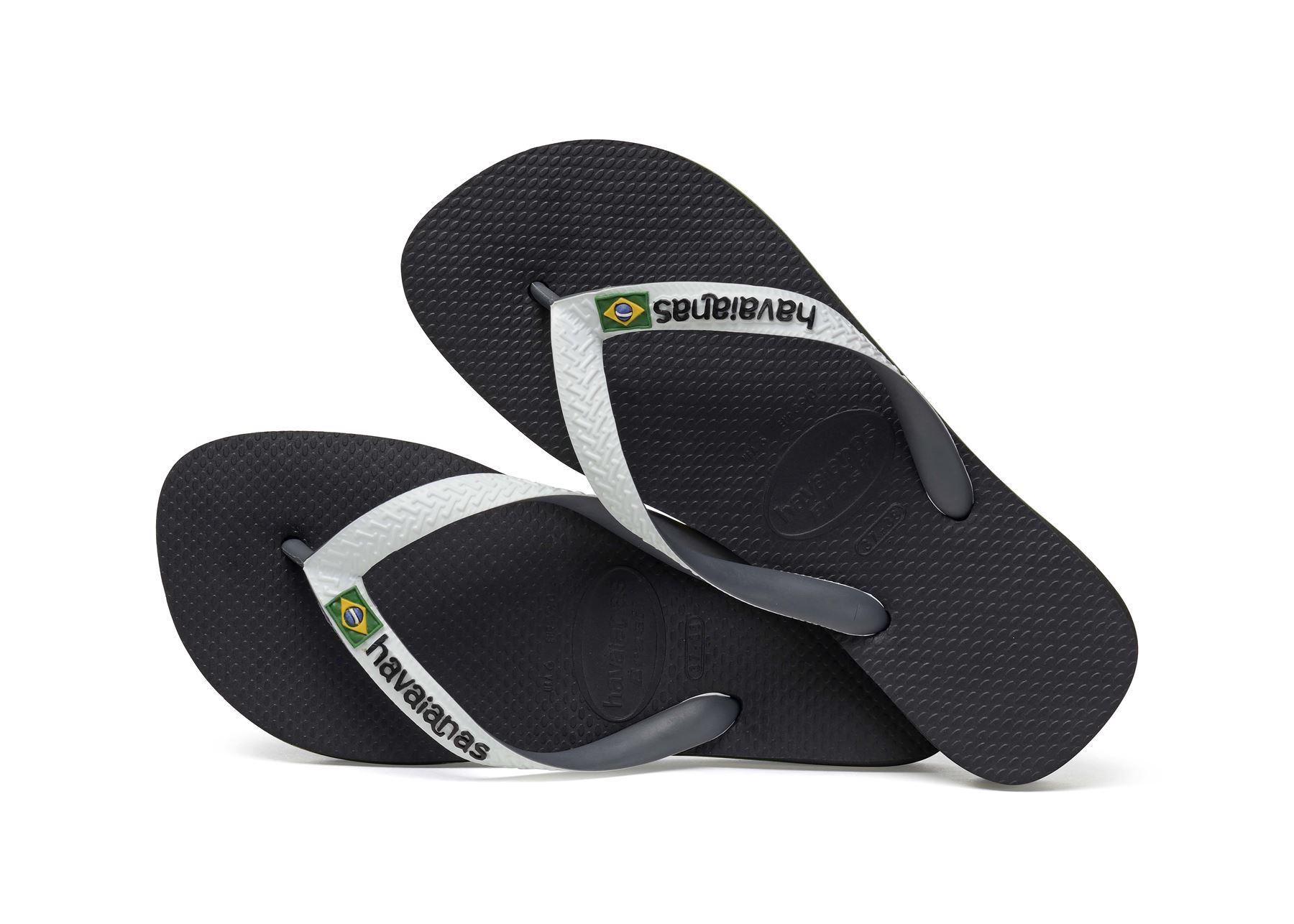 523c15a8f Havaianas Brasil Mix Flip Flops Summer Beach Thongs Sandals Wide ...