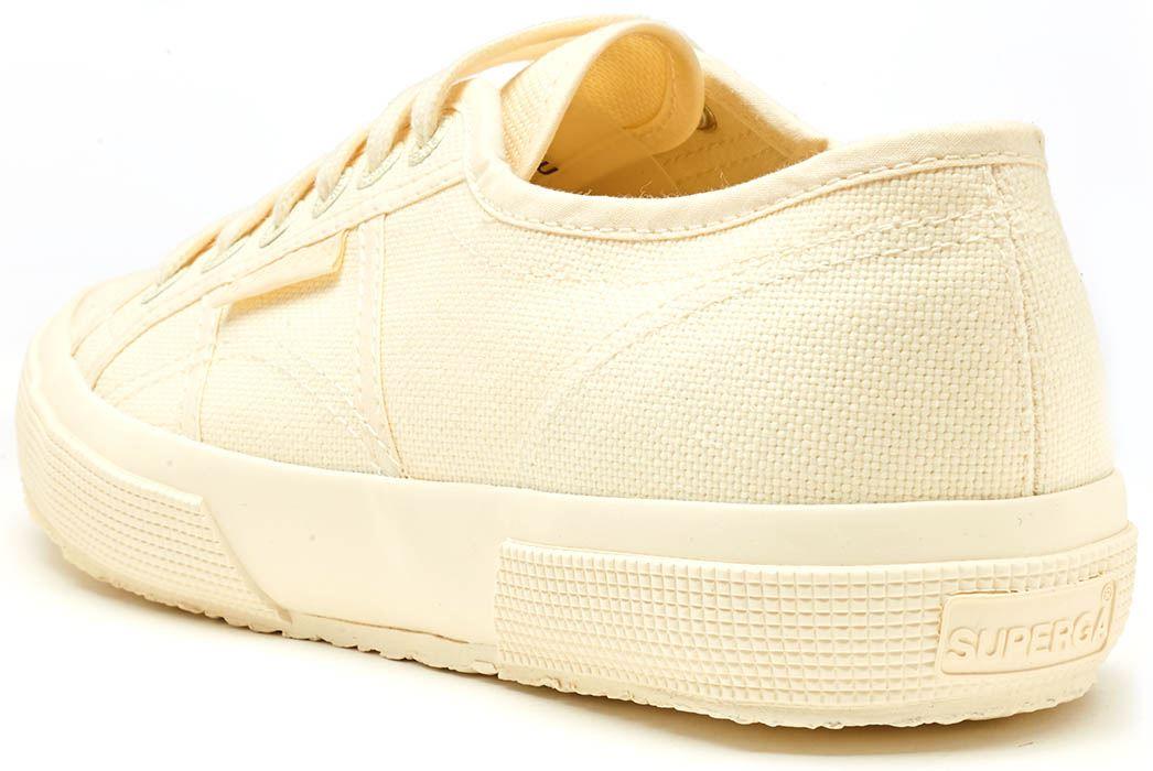 a2e4ebbed33 Superga 2750 Cotu Classic Canvas Shoes in White Taupe