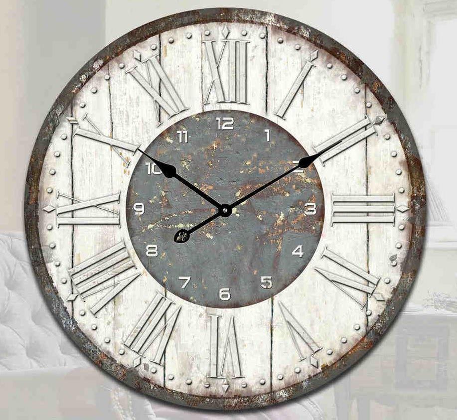 Vintage Retro Shabby Chic Modern & Rustic Wall Clock Home ...