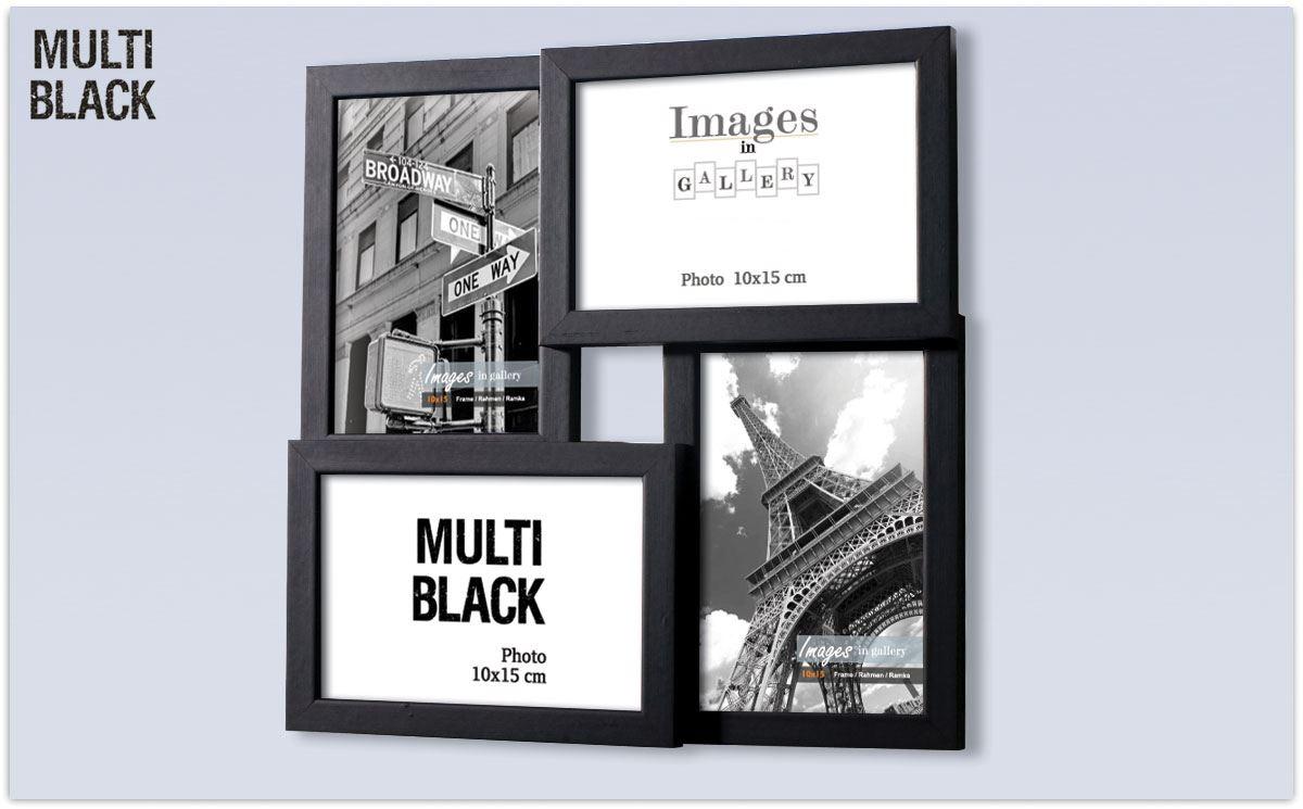 Rustic Shabby Chic Kids Colour Black & White Multi Photo Holder ...