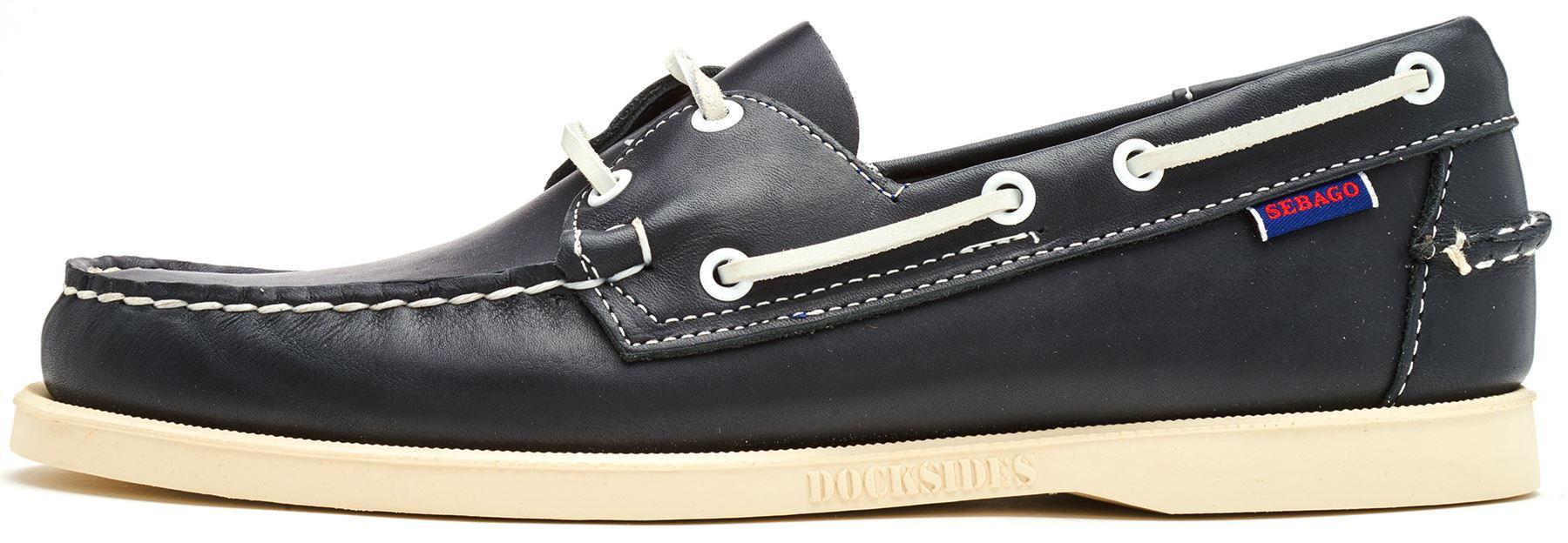Sebago-Docksides-NBK-Suede-Boat-Deck-Shoes-in-Navy-Blue-amp-Coral-amp-Dark-Brown thumbnail 22