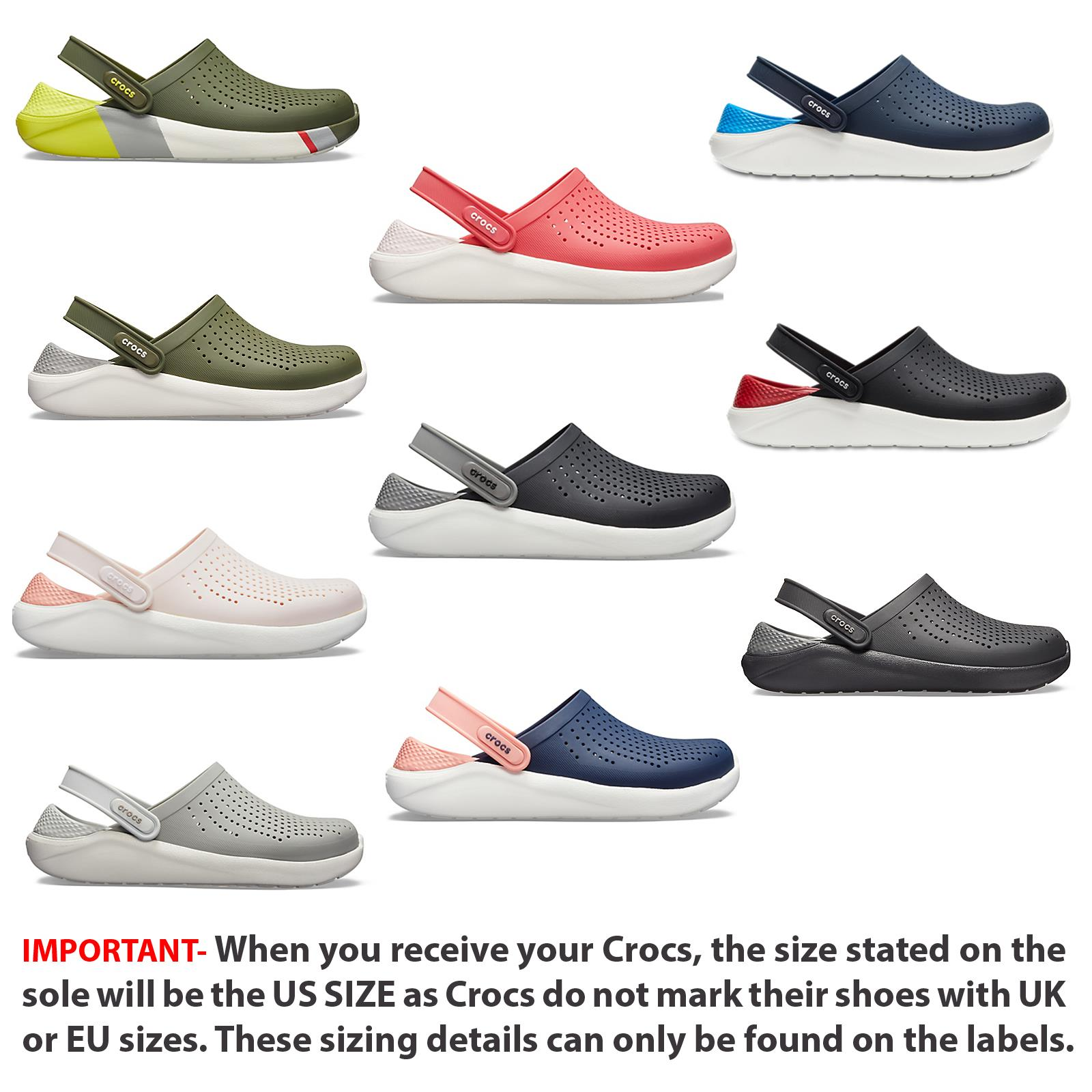 Crocs Lite Ride Relaxed Fit Clog Shoes