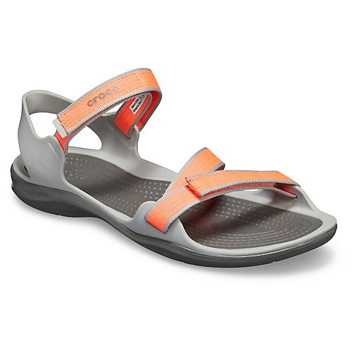Crocs-Swiftwater-Webbing-Summer-Pool-Beach-Relaxed-Fit-Adjustable-Sandals thumbnail 8