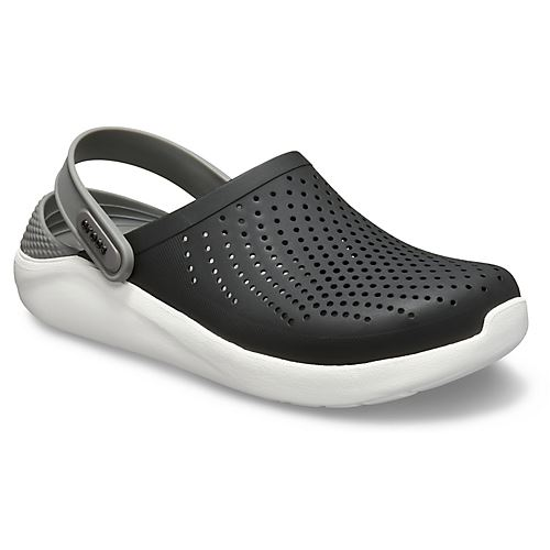 Crocs-Lite-Ride-Relaxed-Fit-Clog-Shoes-Sandals-Black-Grey-White-amp-Blue-204592 thumbnail 9