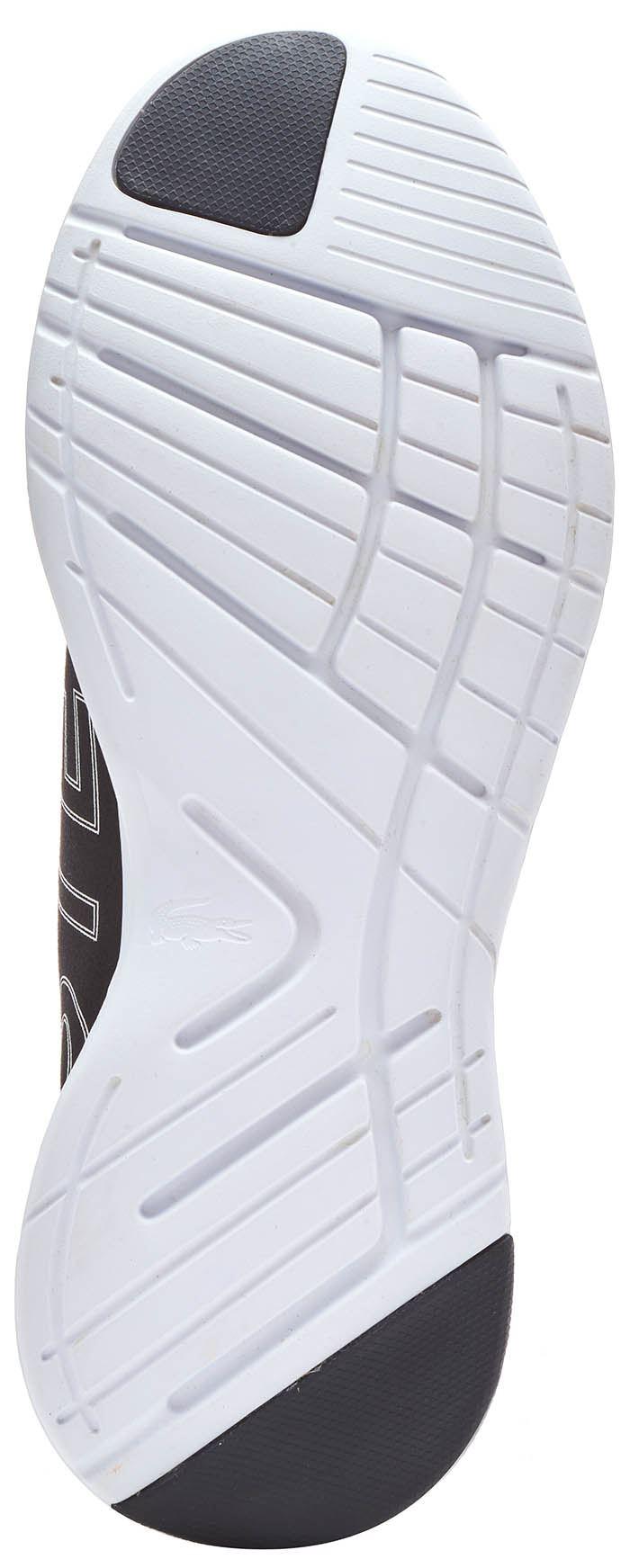 Lacoste Fit 119 1 LT LT LT SMA Lacci Running Scarpe da ginnastica alla moda in Nero & Navy blu 9910a4