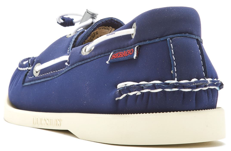 Sebago-Docksides-NBK-Suede-Boat-Deck-Shoes-in-Navy-Blue-amp-Coral-amp-Dark-Brown thumbnail 36