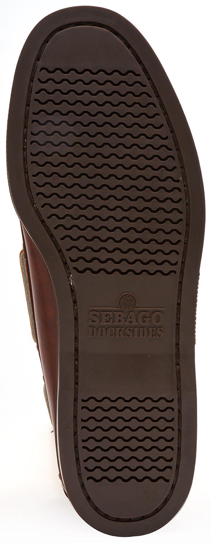 Sebago-Docksides-NBK-Suede-Boat-Deck-Shoes-in-Navy-Blue-amp-Coral-amp-Dark-Brown thumbnail 13